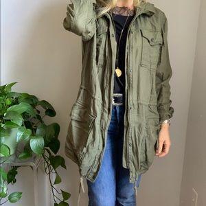A&F Abercrombie utility jacket m medium